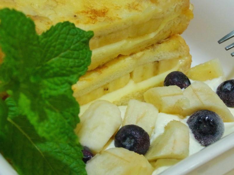 香蕉法式吐司三重奏