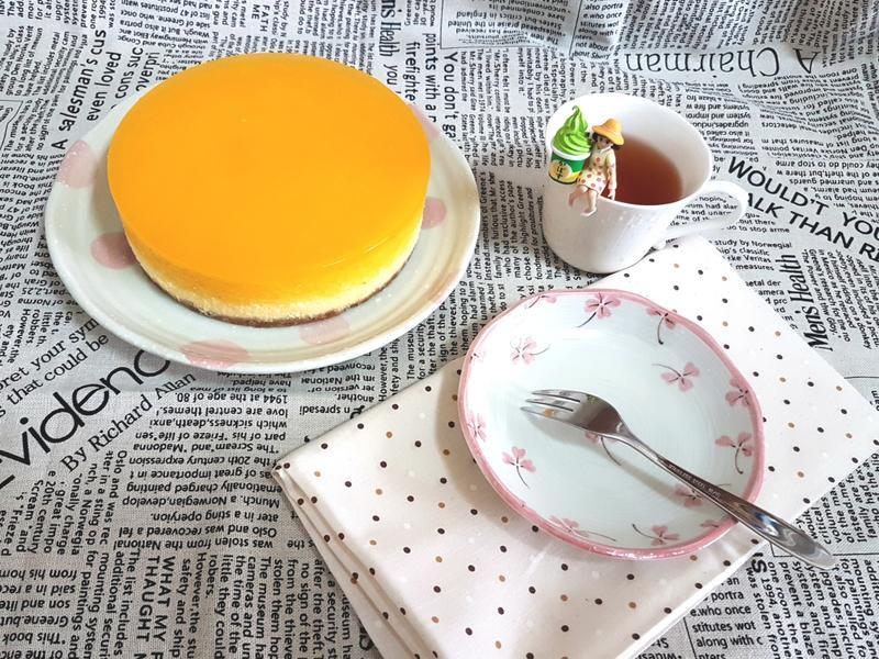 橙香乳酪蛋糕