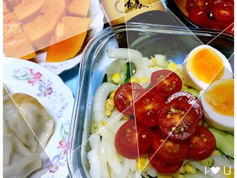 洋蔥玉米沙拉【淬釀全菜單挑戰賽】