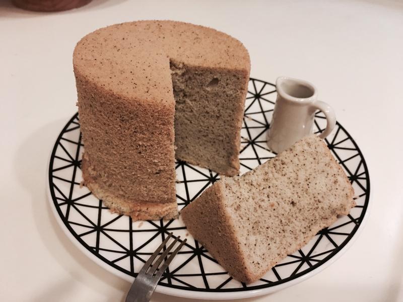 四寸伯爵戚風蛋糕