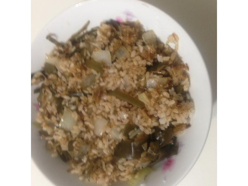 日式醬油昆布柴魚炒飯【淬釀全菜單挑戰賽】