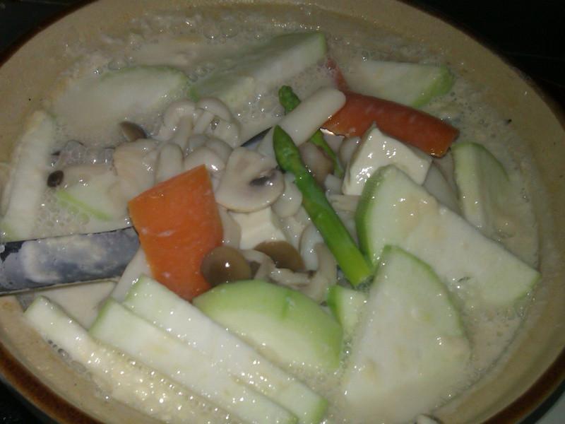 養身有機豆漿眾菇湯