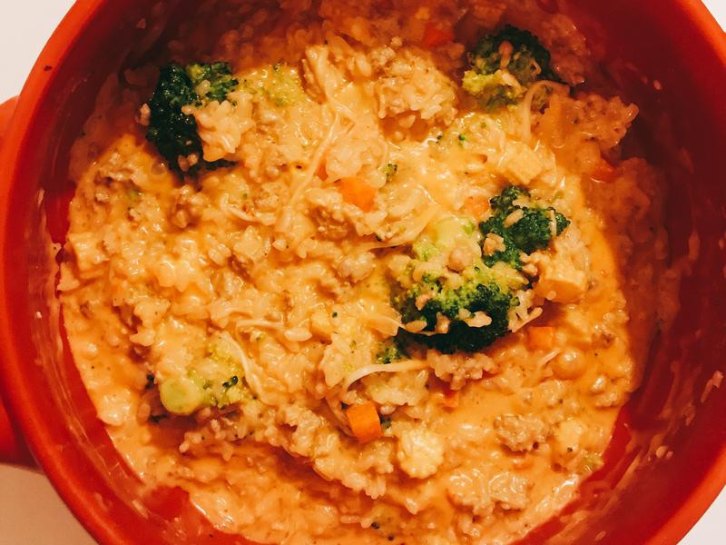 韓式起司蔬菜燉飯