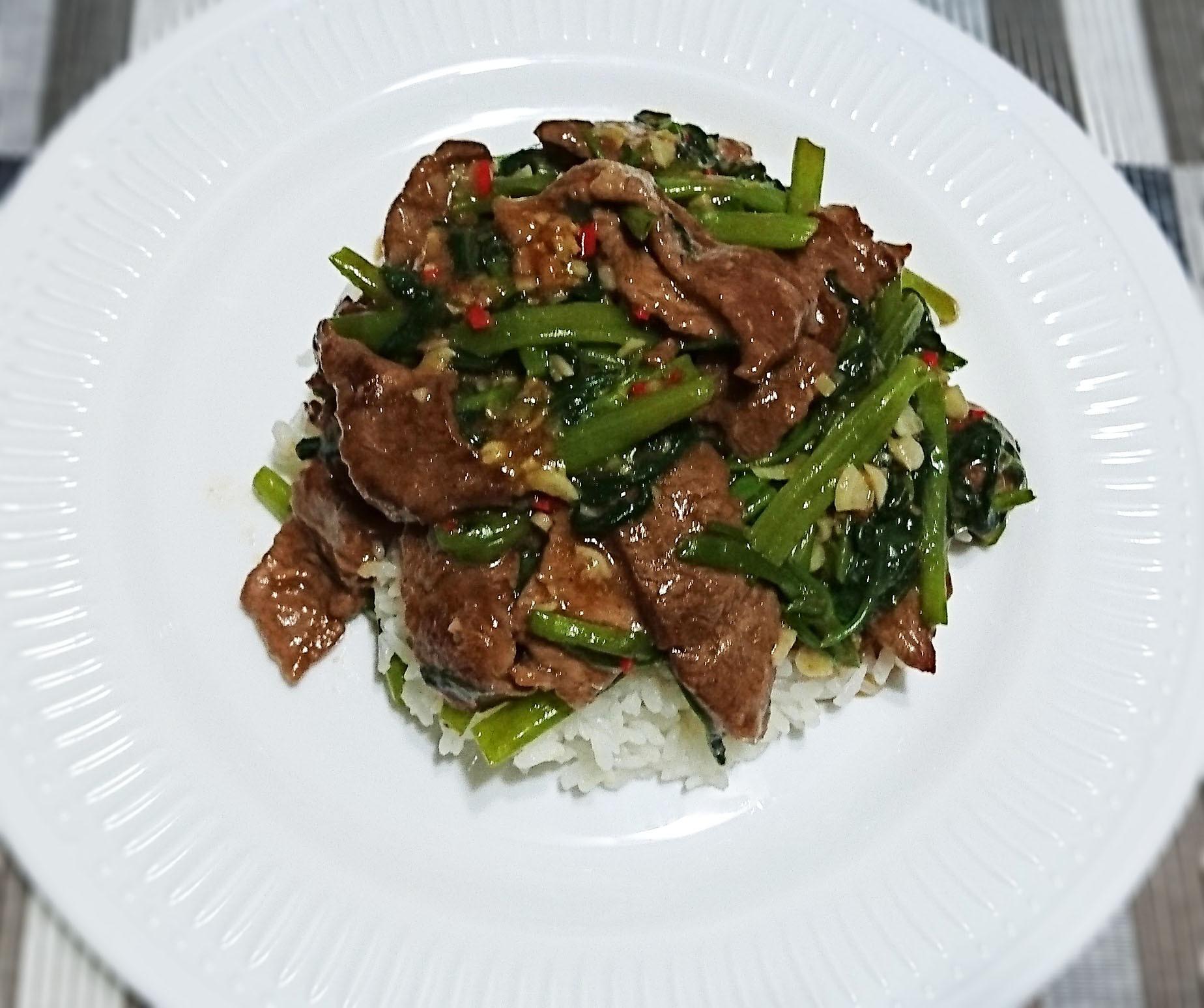 台味十足的 沙茶牛肉燴飯