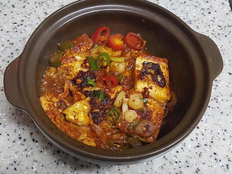 (韓式)醬燒豆腐 두부조림