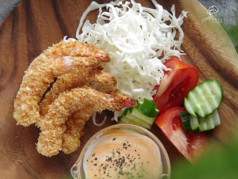 饗瘦美味-烤箱版日式炸蝦