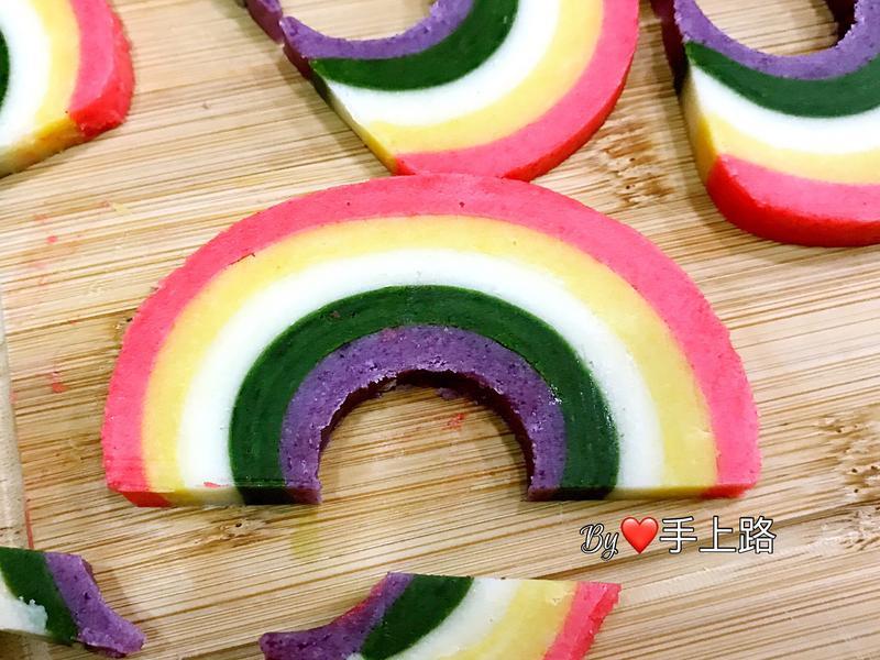 🌈彩虹造型餅乾🌈