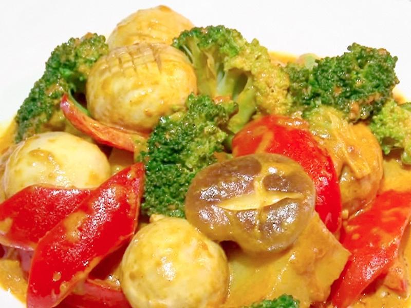 薑黃炒四蔬 │ 餐桌上的南洋風
