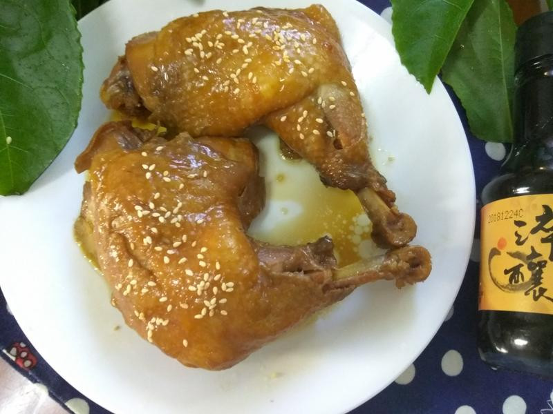 便當菜─八角醬滷雞腿
