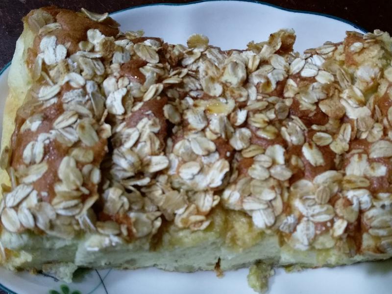 蜂蜜燕麥香蕉蛋糕