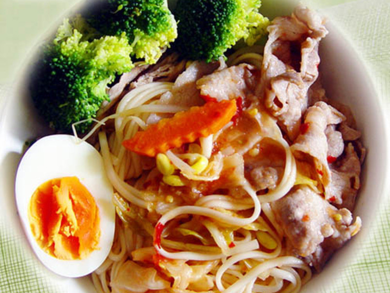 【厚生廚房】泡菜冷拌麵