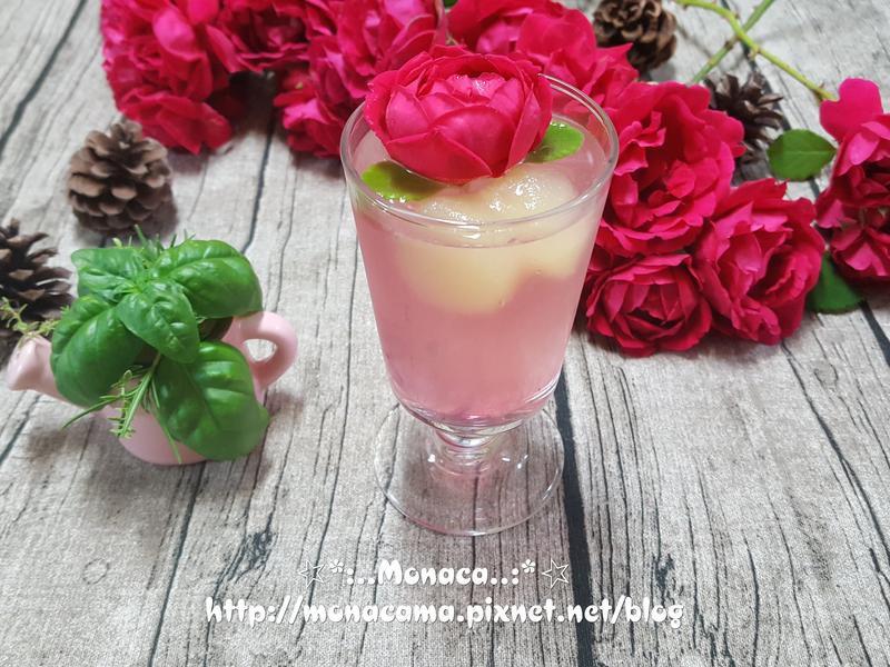 玫瑰檸檬飲