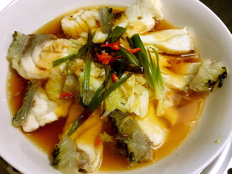蠔油蒸龍膽石斑魚