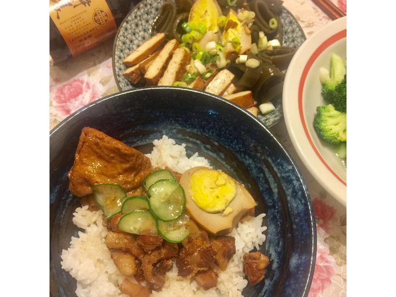 電鍋可樂~滷肉飯【淬釀全菜單挑戰賽】