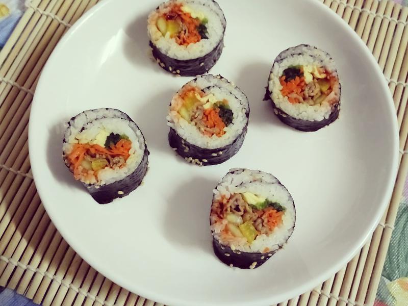 韓式紫菜卷 김밥 Gimbap