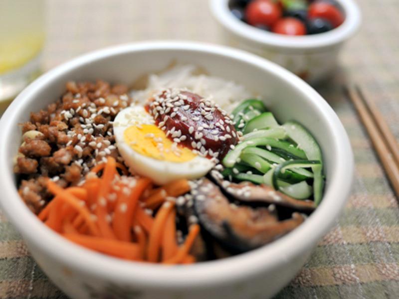 【愛妻飯盒】韓式拌飯 Bibimbap