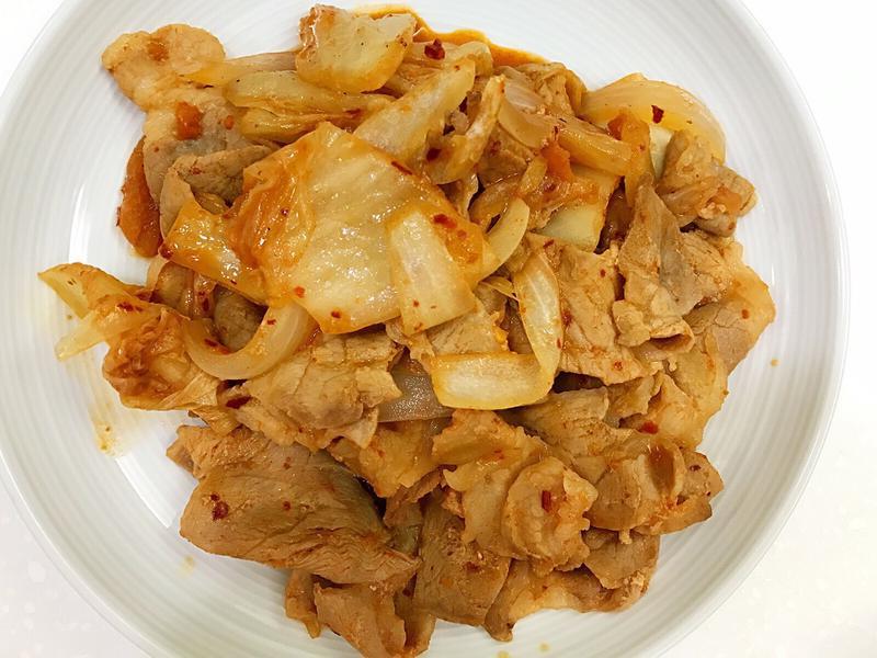 お弁当-170607-泡菜豬五花