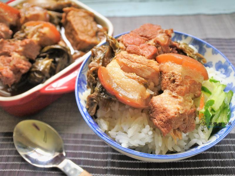 梅乾菜魯五花(一鍋到底好料理)