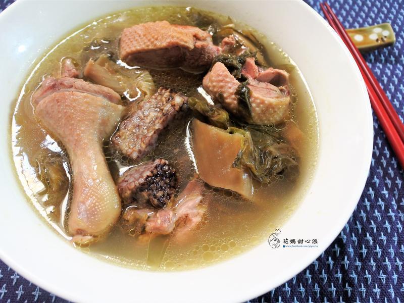 梅乾菜燉鴨