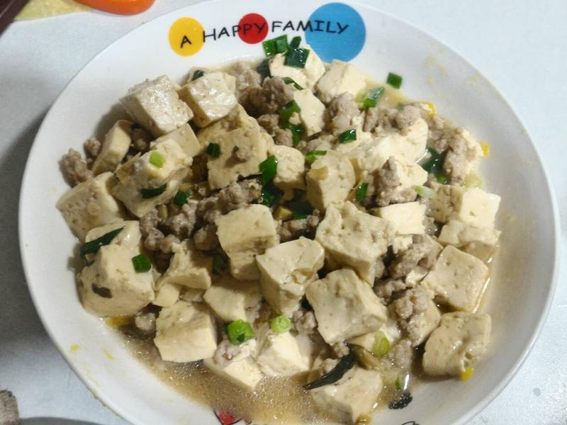 麻婆豆腐(不辣版)