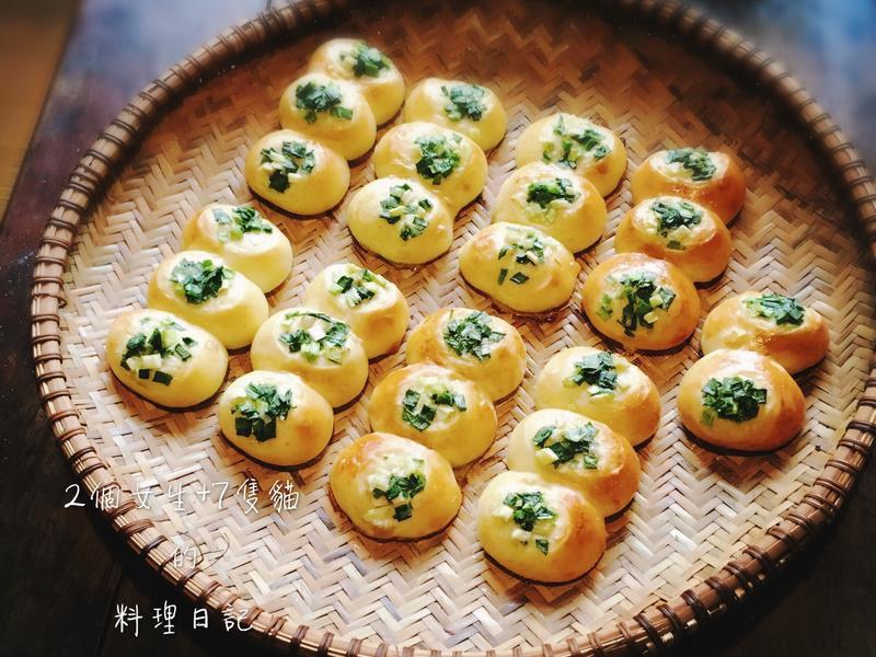 台式香蔥手撕包【無奶少油配方】