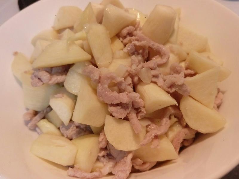 下班易料理~筊白筍炒肉絲