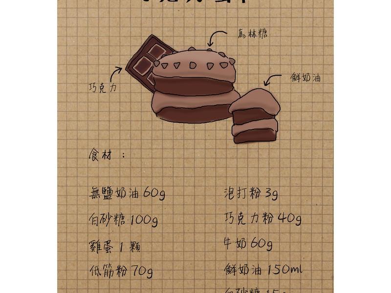[烤箱]巧克力蛋糕