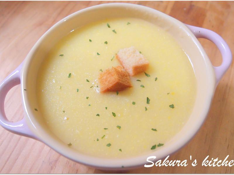 ♥我的手作料理♥ 純玉米濃湯
