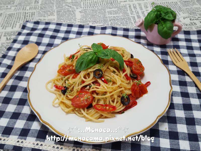 油漬番茄義大利麵