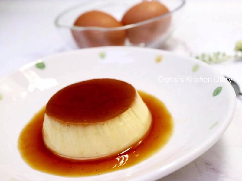 法式焦糖烤布丁(烤箱+電鍋版綿密配方)