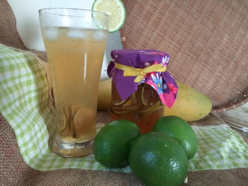 自製清涼消暑檸檬蜜
