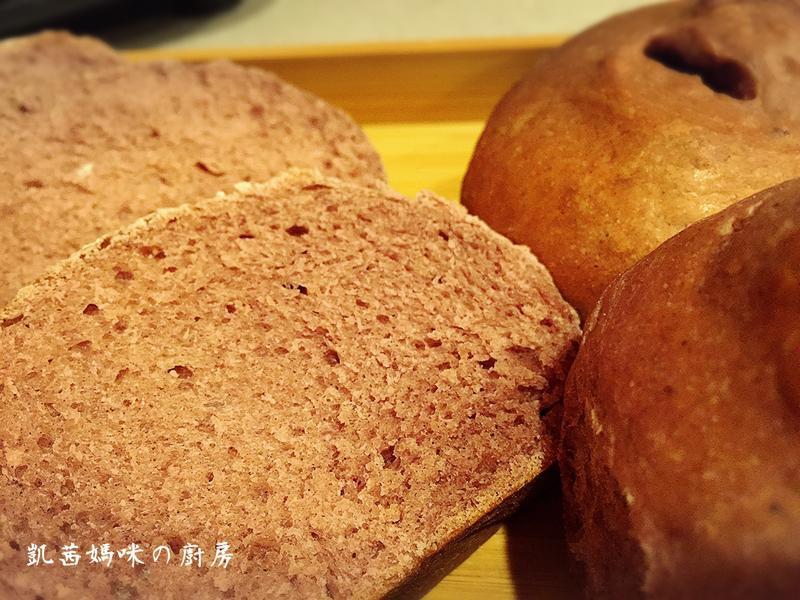 黑米優格麵包🎶