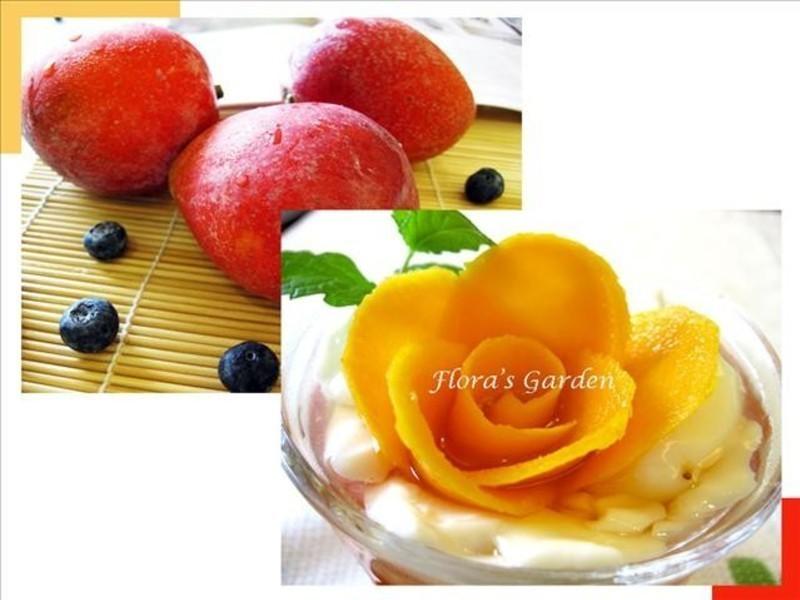 簡單又美味的《西米露芒果花布丁》