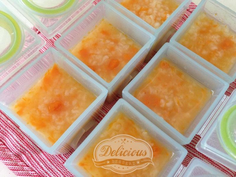 副食品-滴雞精金瓜寶寶粥(6M~9M)