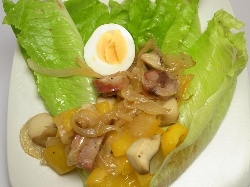 【朱記食譜】香腸生菜沙拉