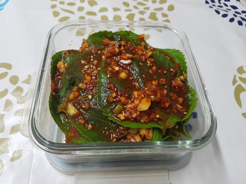 (韓式)芝麻葉泡菜 깻잎김치