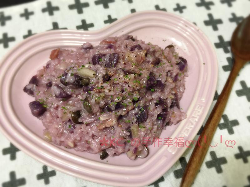 紫地瓜燉飯🍠