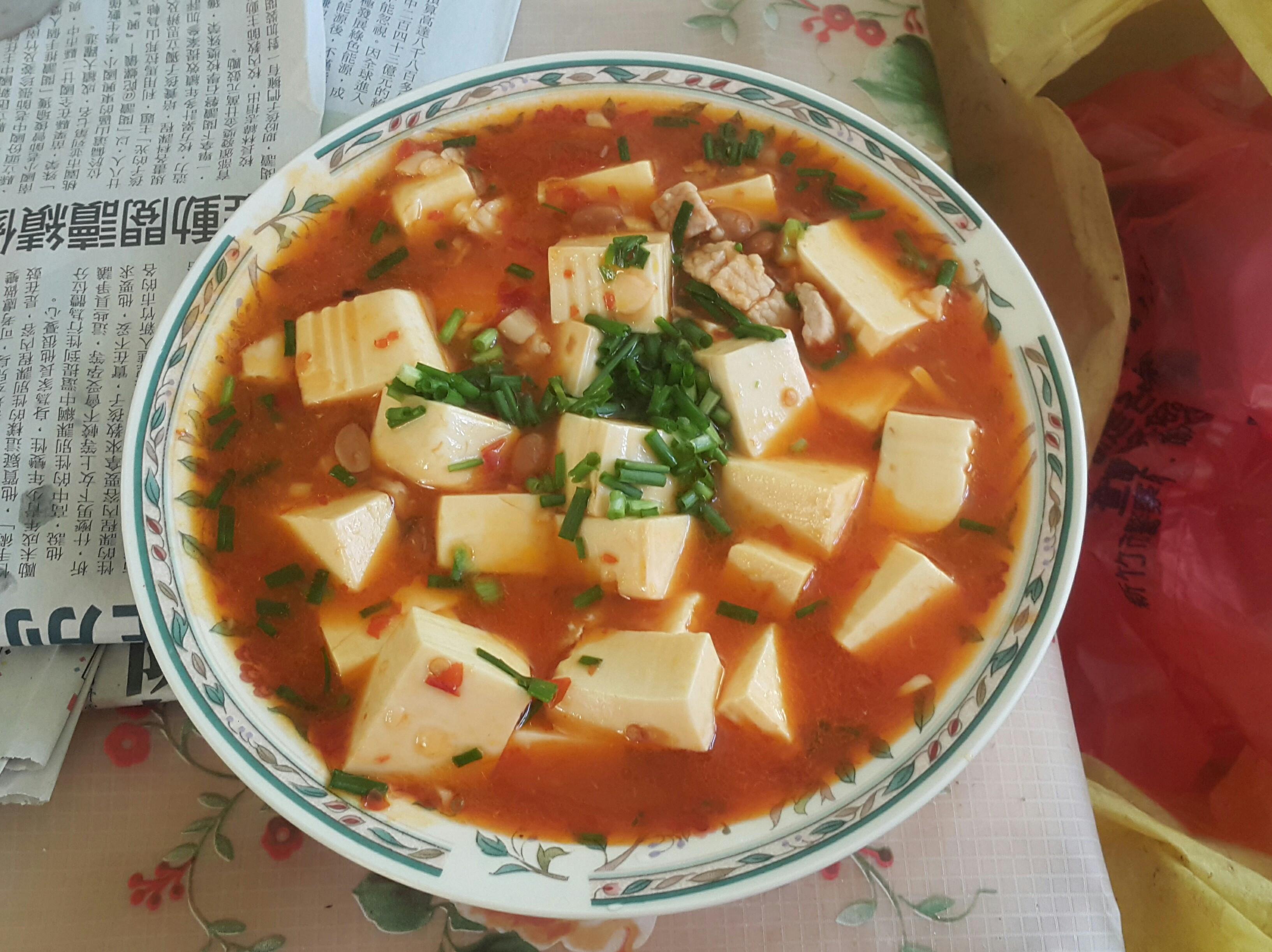 麻婆豆腐(夏天開胃聖品)