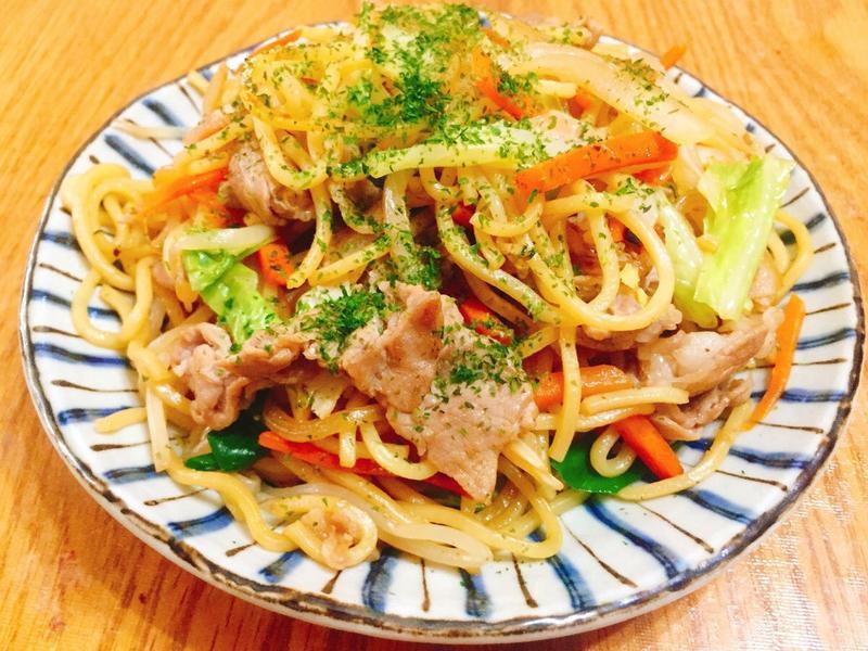 日式炒麵(焼きそば)