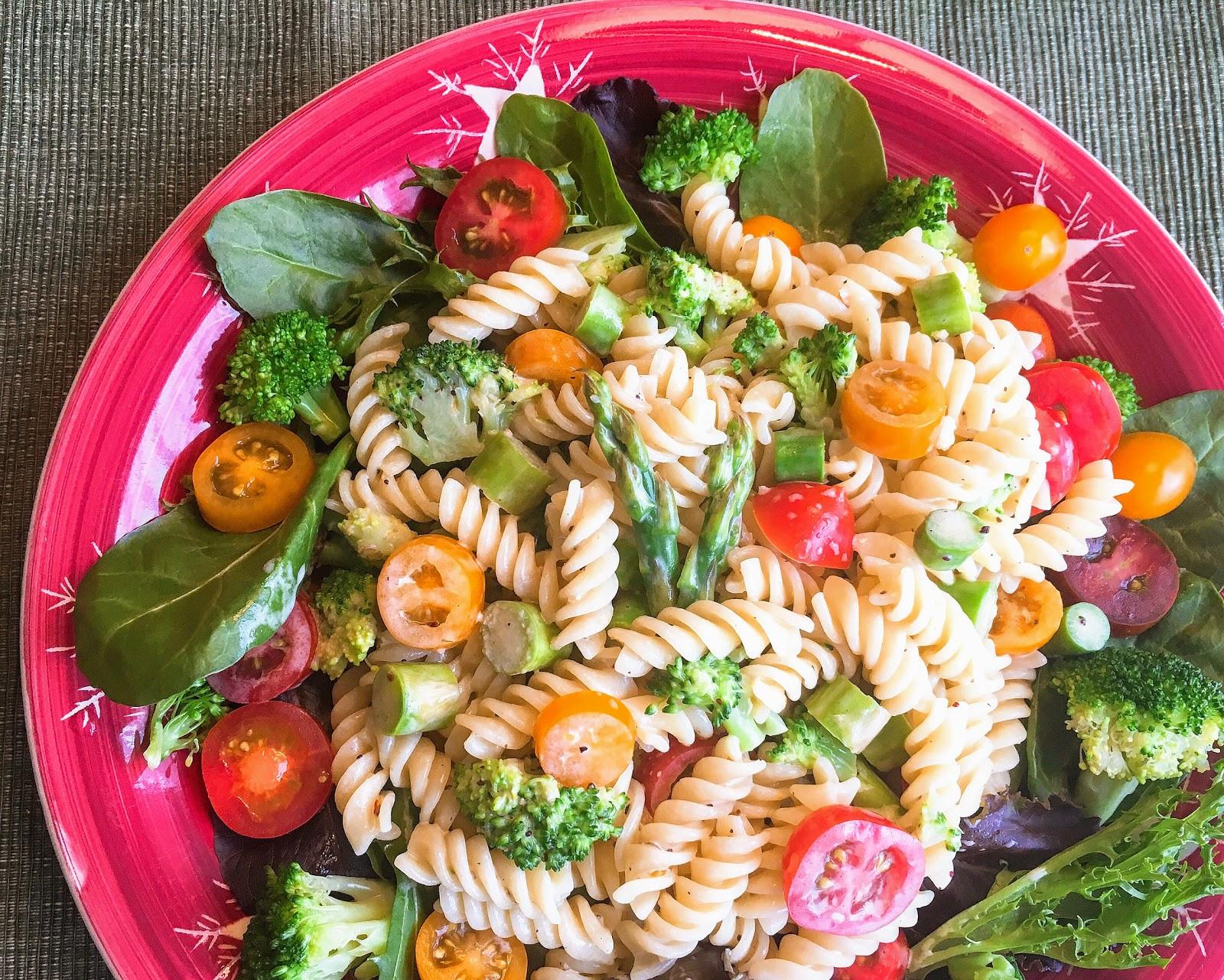 蕃茄青蔬義大利麵沙拉