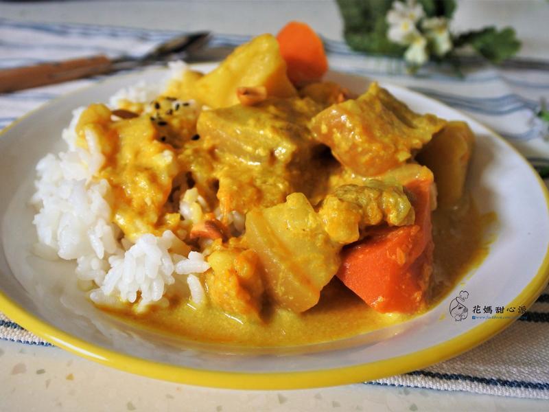 薑黃南洋咖哩飯