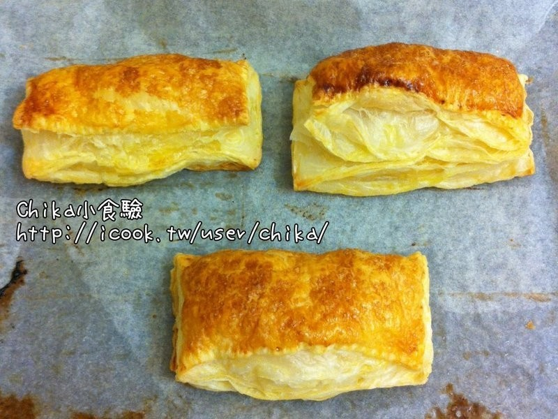 【甜甜小食驗】方型蘋果派