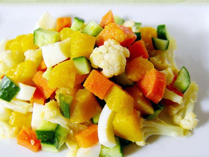 【厚生廚房】 南瓜鮮蔬沙拉