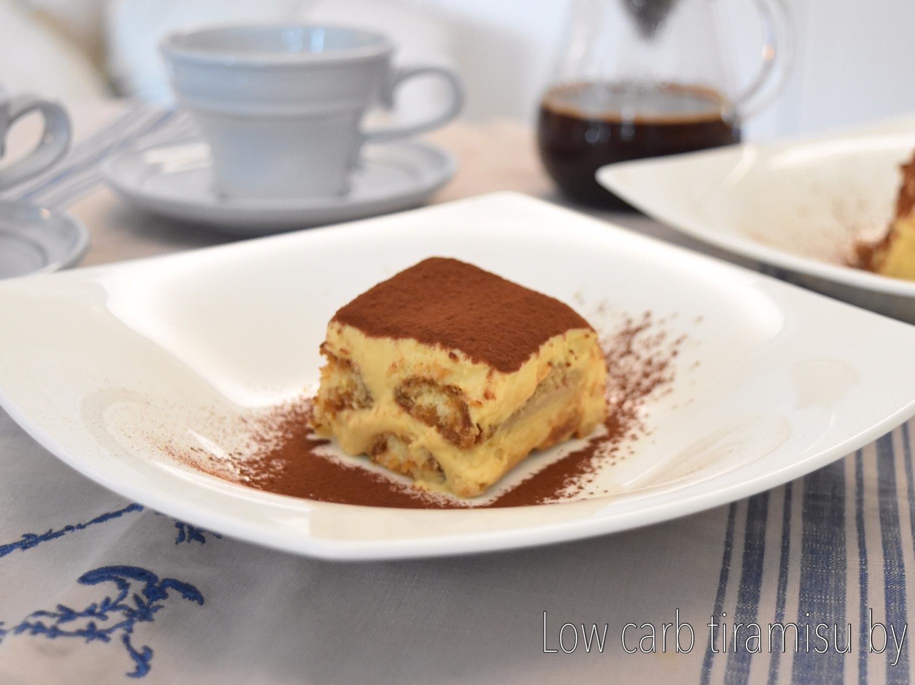 超美味低醣義式提拉米蘇