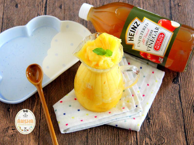 鳳梨蘋果醋冰沙