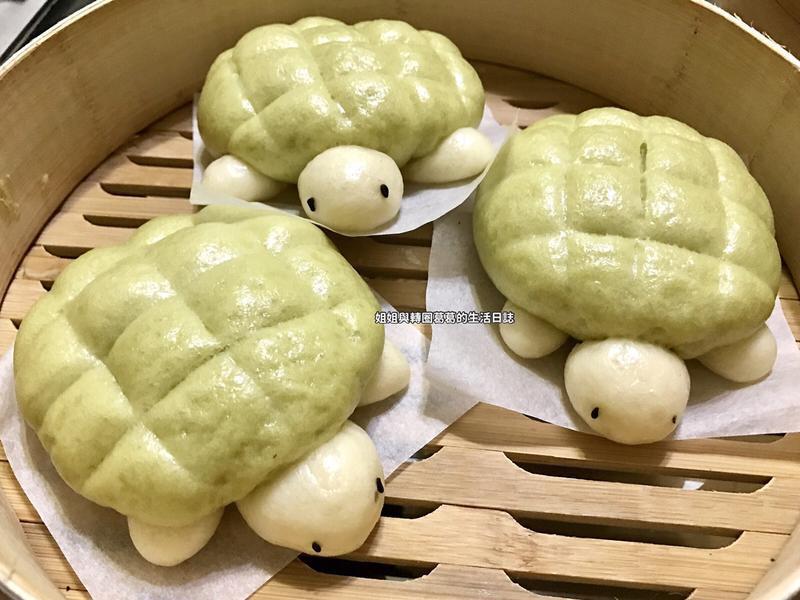 『親子手做』可愛烏龜造型饅頭