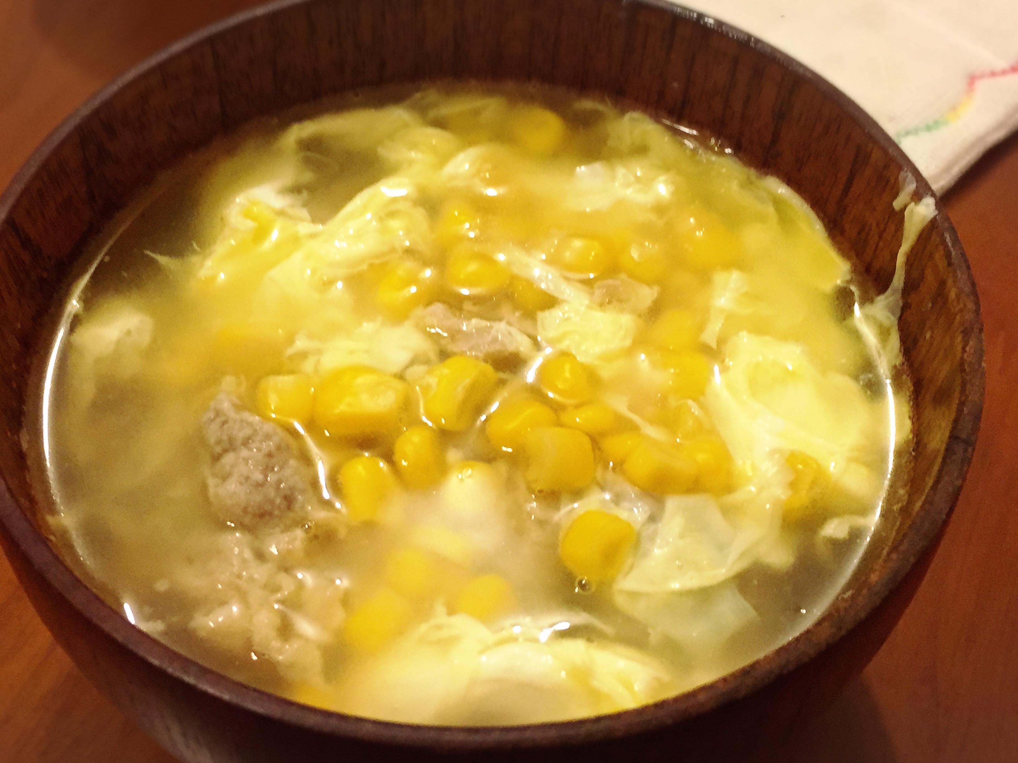 肉羹玉米濃湯