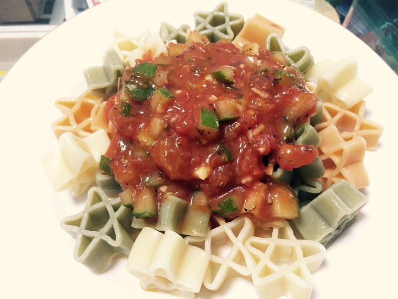 蕃茄冷醬義大利麵