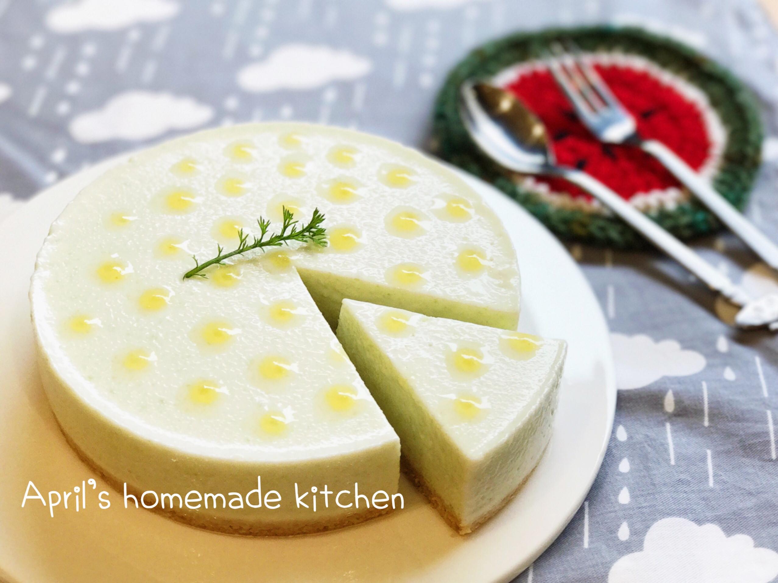 芭樂檸檬慕斯蛋糕 免烤箱
