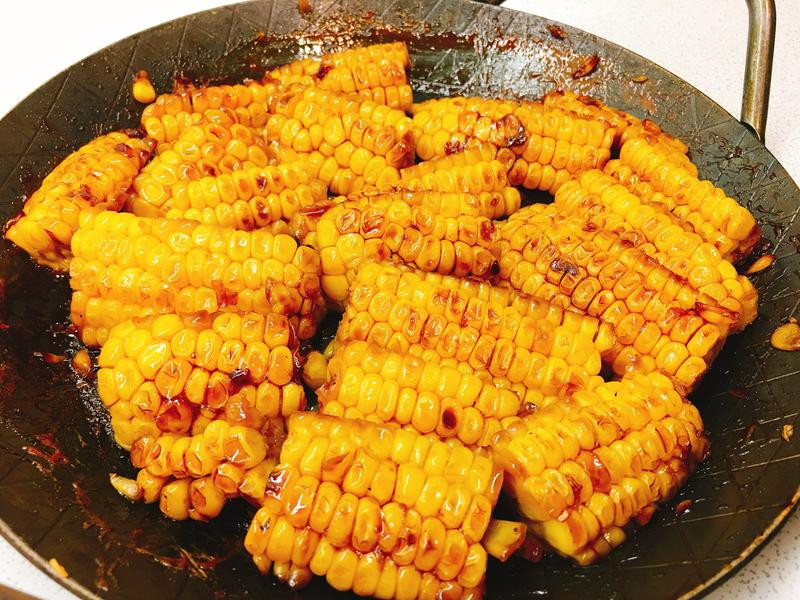 醬燒玉米《烤肉醬再利用一》
